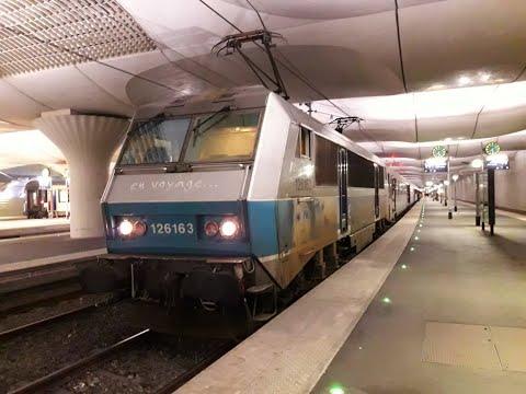 FR#181 - Matinée de circulations classiques et détournements en gare de Paris-Austerlitz