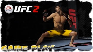 "EA Sports UFC 2 - Bruce ""The Dragon"" Lee vs Clay ""Cassius"" Collard - Gameplay."