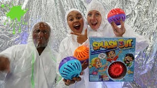SPLASH OUT SLIME TOY CHALLENGE GAME!!