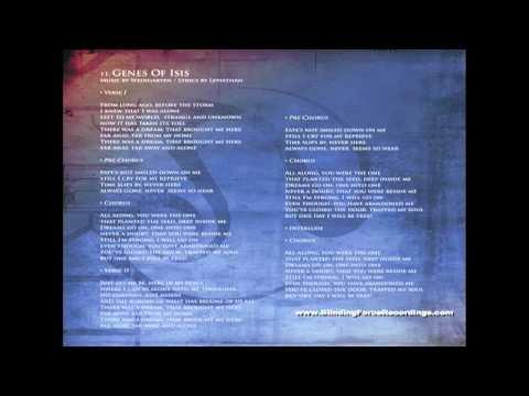 ECHOTERRA - Genes Of Isis (Lyrics)