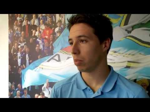 Blackburn Rovers v Manchester City: Samir Nasri gives his post-match reaction
