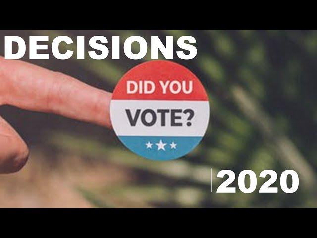 Christway Nov. 8   Decisions, 2020