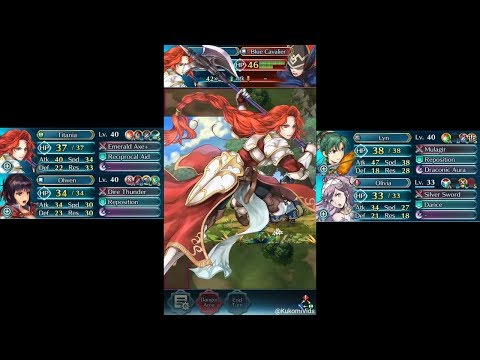 Fire Emblem Heroes - Narcian: Wyvern General Grand Hero Battle (Infernal)