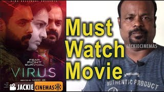 Virus Malayalam Movie Review By Jackie Sekar   #TovinoThomas #Parvathy #Revathi #MadonnaSebastian