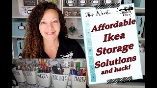 Affordable Ikea Storage Solutions