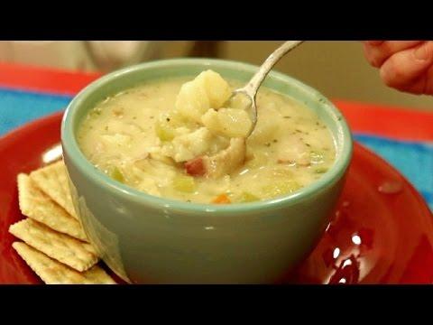 Best fish chowder recipe youtube for Best fish chowder recipe