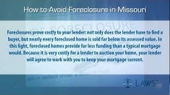 How to stop foreclosure in Missouri