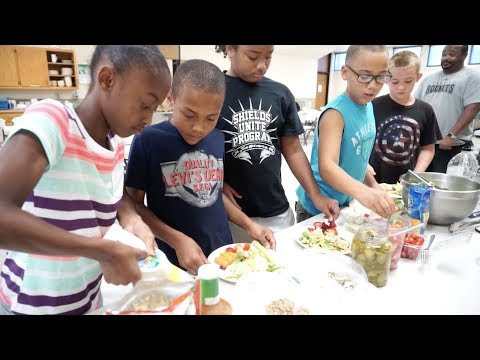 Salvation Army Fit Club:  Healthy Eating (Bright Spots)