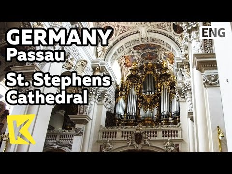 【K】Germany Travel-Passau[독일 여행-파사우]성 슈테판 대성당/St. Stephen's Cathedral/Mass/Pipe organ/Fresco