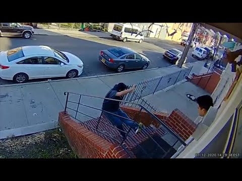 Video: Tenant fatally shoves landlord down stairs in dispute over rent