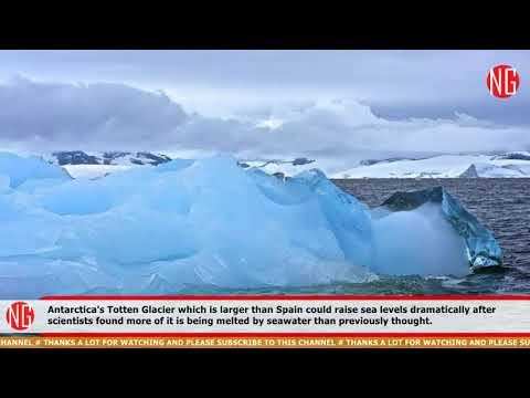 Antarctica's Totten Glacier Can Increase Sea Level By Three Meters