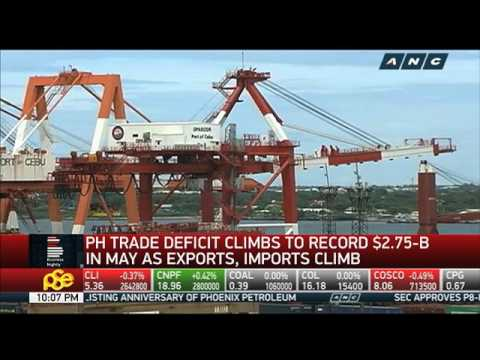 Peso hovers near 11-year low; trade deficit soars