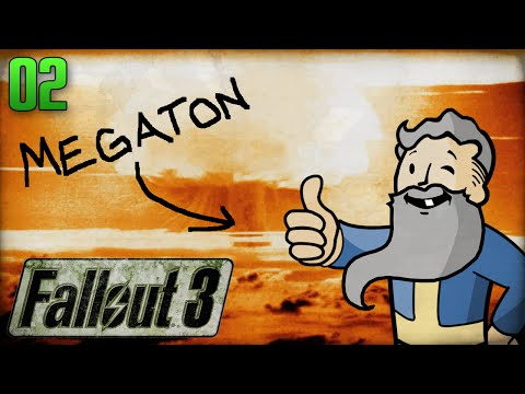 "Fallout 3 Gameplay Walkthrough Part 2 - ""I SET UP US THE BOMB!!!"" 1080p HD"