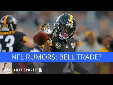NFL Rumors: Le'Veon Bell Trade, Rob Gronkowski Trade, & Dez Bryant To Patriots - 동영상
