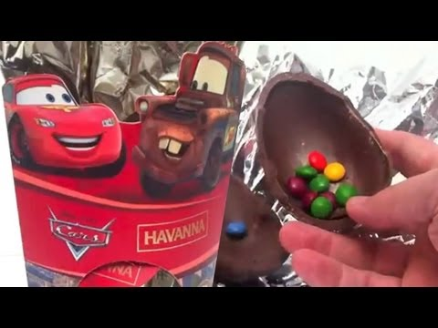 ★Cool Cars2 Surprise Eggs Unboxing toy gift - Kinder sorpresa huevo juguete regalo Cars Havanna Travel Video