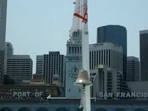 Clock chiming at the Ferry Building