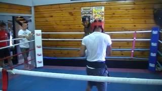 Gambar cover Stafa Kadmiri sparring with Senior Micha Part1 ( malaga, spain)