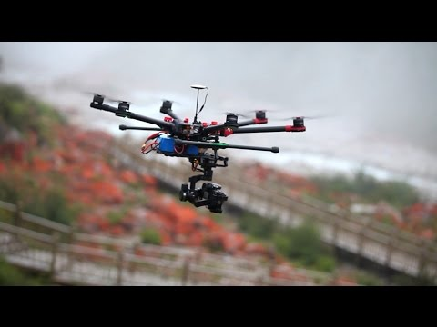 DJI Spreading Wings S900: Create Anywhere