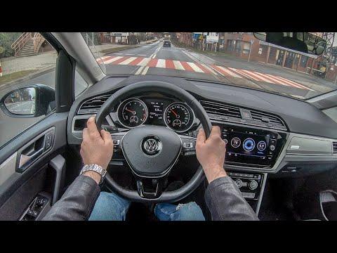 Volkswagen Touran III (2019) | 4K POV Test Drive #188 Joe Black
