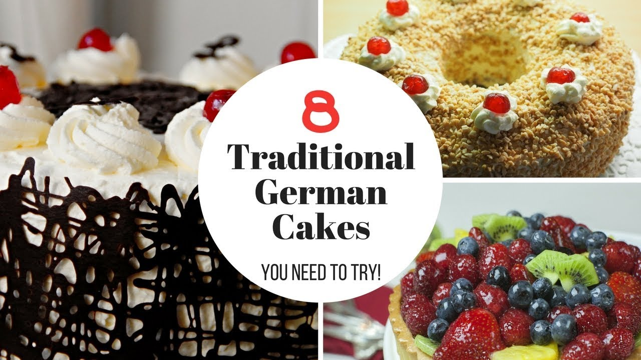 Image result for Great video of 8 German cakes
