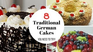 8 German Cakes You Need To Try!