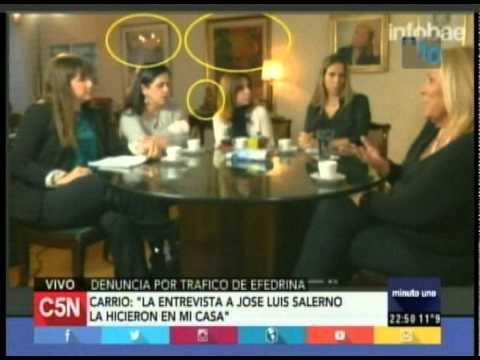 C5N - Minuto Uno: La acusacion contra Anibal Fernandez (Parte 3)