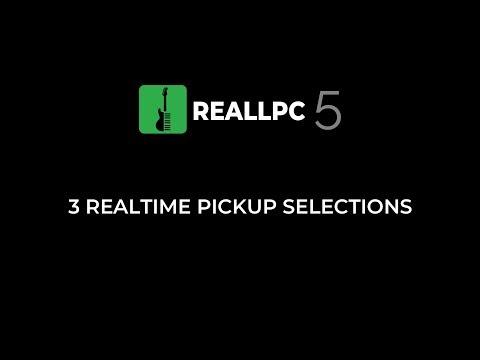 RealLPC 5. 3 Realtime Pickup Selections