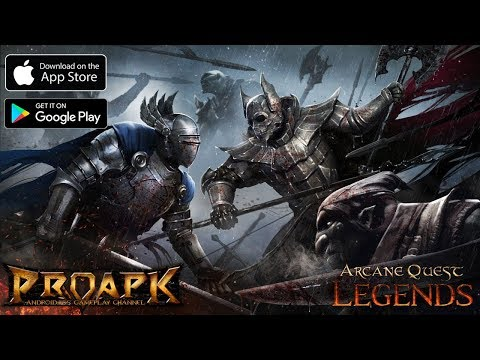 Arcane Quest Legends - Offline RPG Gameplay Android / IOS