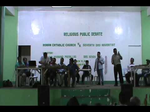 DEBATE PART 1 - ROMAN CATHOLIC CHURCH (CFLAMP-ISWCM) VS SEVE