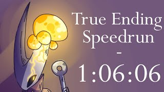 Hollow Knight True Ending NMG Speedrun - 1:06:06
