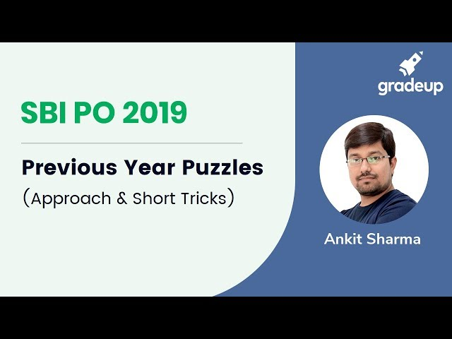 SBI PO 2019 | Previous Year Paper Discussion | Puzzle