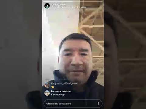 BRAVO KONSERTI 2018 youtibiga chiqmasdan 1 kun oldingi murojati