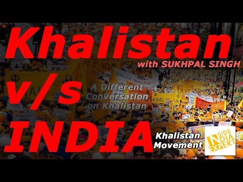 Khalistan v/s INDIA. A movement that wants to create an independent state for Sikh people.