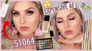 Full Face of MY MOST EXPENSIVE MAKEUP! 💸💸 Luxury & High End