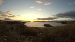 Sunset in Clifden, County Galway, Ireland 28.8.14. Taken with GoPro Hero3 Black