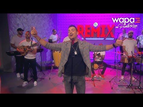 Víctor Manuelle trae su carisma a El Remix