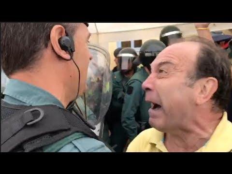 El Loco de Amarillo se enfrenta a la Guardia Civil