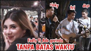 Download lagu TANPA BATAS WAKTU - ADE GOVINDA FEAT FADLY (LIRIK) Live COVER BY TRI SUAKA FEAT RICKY FEBRIANSYAH