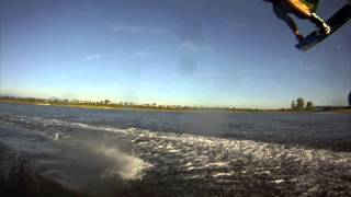 Jetty Island Everett Washington kiteboarding 2014