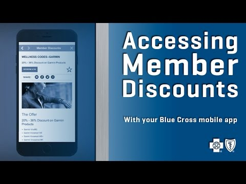 Getting Member Discounts with your Blue Cross Mobile App