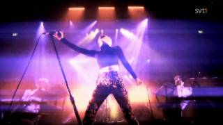 Robyn - Indestructible and With every heartbeat - Live in Stockholm