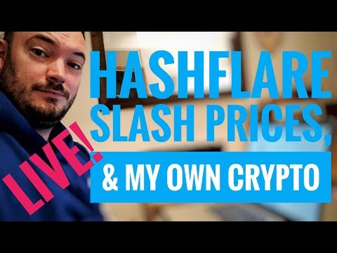 hashflare site has issues & envion video update Live!