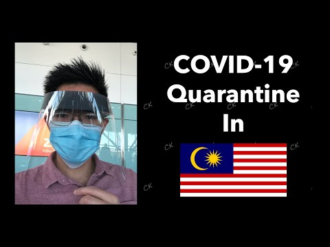 Quarantine in Malaysia - Post 24th July 2020 Covid19  Process and Experience