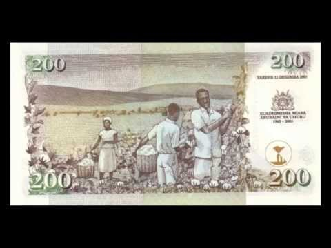 All Kenyan Shilling Banknotes - 1996 to 2010 in HD