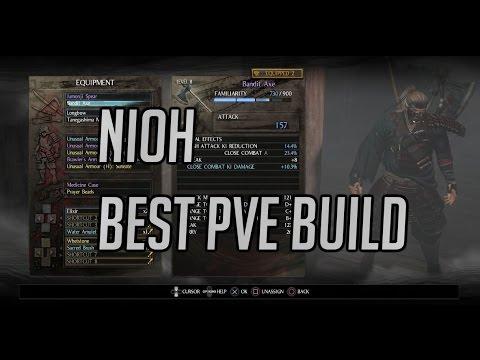 nioh how to make a build