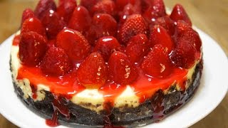 Strawberry Oreo Cheesecake - Cooked By Julie Episode 206