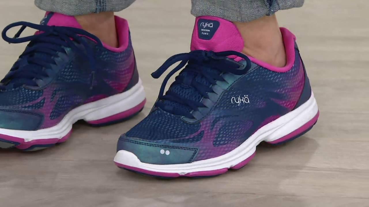 Ryka Lace-Up Walking Sneakers