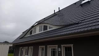 Fledermausgaubensysteme für Architektenhäuser.
