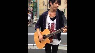 13..10.3 ユンくん路上ライブ     LOVEDAYS_大国男児