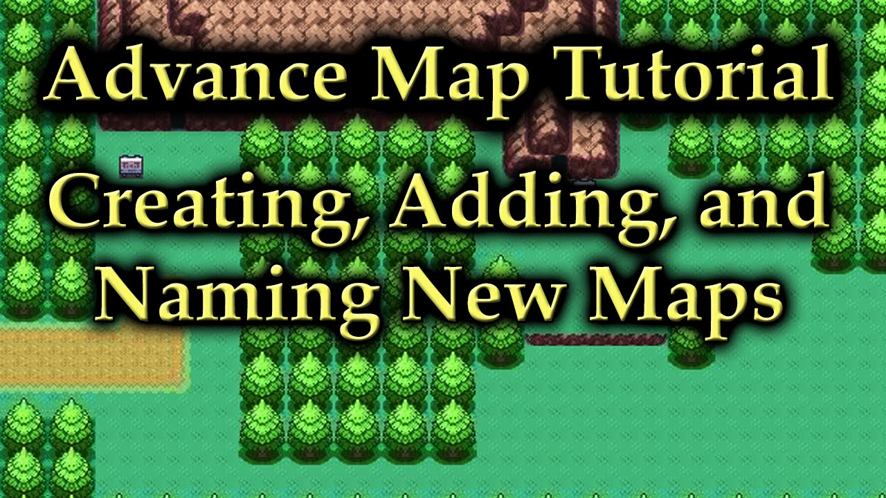 Advance map tutorial creating adding and naming new maps youtube advance map tutorial creating adding and naming new maps gumiabroncs Images